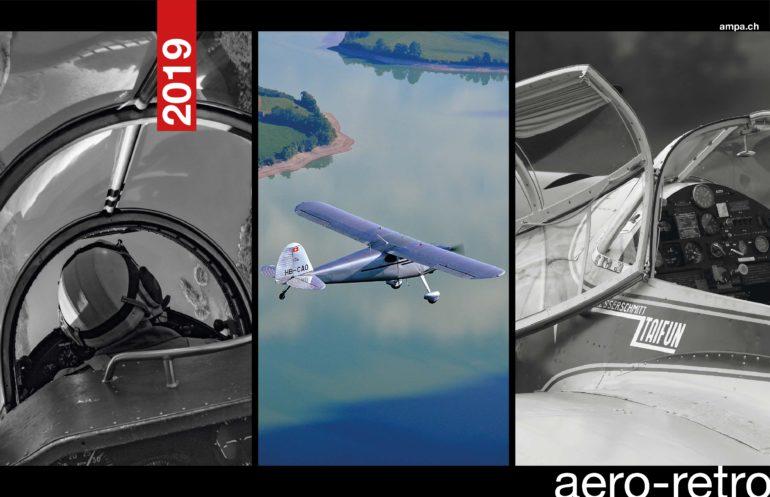 Le nouveau calendrier Aero-Retro - 12 photos d'avions classiques & historiques immortalisés par des photographes amateurs.